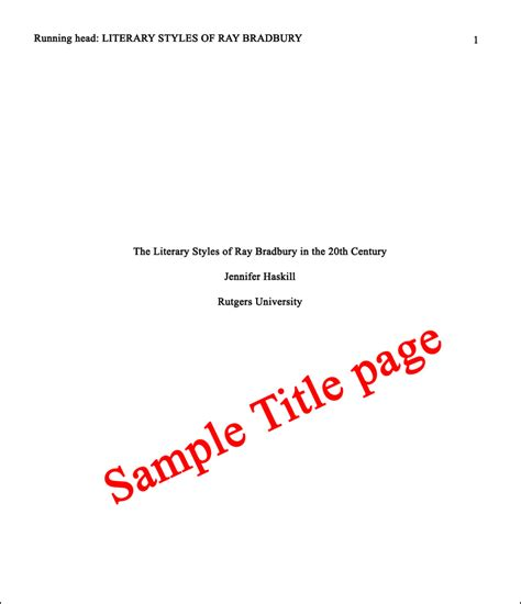 Children's book or other illustrated book Essay Basics: Format a Paper in APA Style | Owlcation
