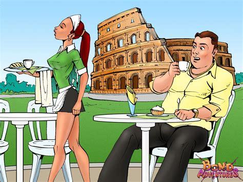 Set 02 Adventure At Rome Bruce Bond Hentai Online