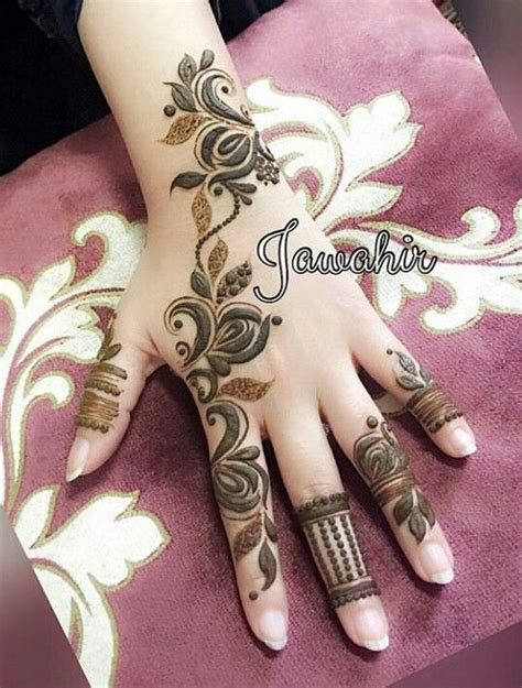 Henné Pied Simple نقش حنا Mehndi Designs Henn 233 Tatouage Henn 233 Et Tatouage