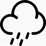 Icon Rainy Weather Library