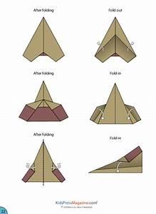 Paper Airplane Instructions U2019 Sleek Jet Advanced