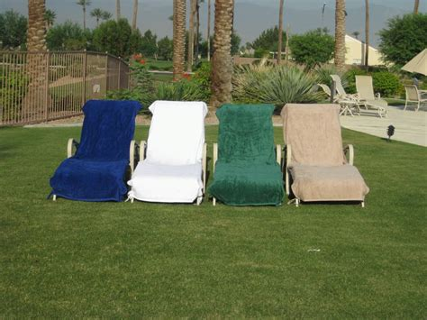 Terry Cloth Lounge Chair Covers Target by Plush Terry Velour Lounge Covers Gcm Lounge Cover