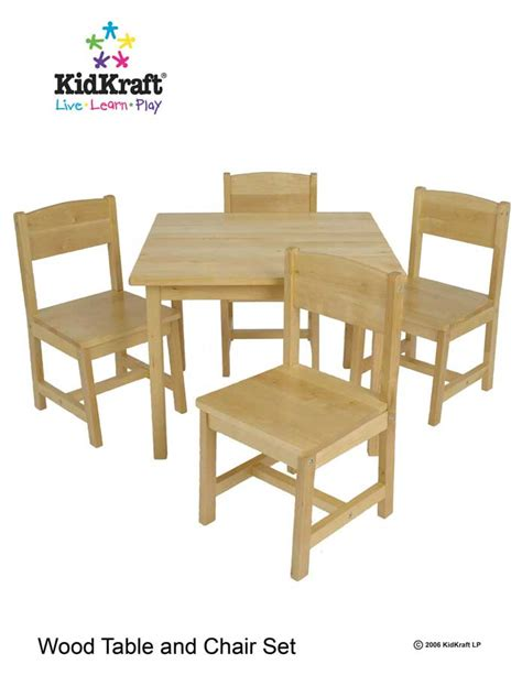 Kidkraft Farmhouse Table And Chair Set White by Child Sized Table And Chair Set Images Glamourous Fancy