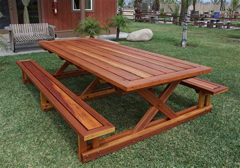 Picnic Table Bench Kit by Custom Chris S Picnic Table Made In U S A Duchess Outlet