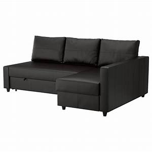 Friheten corner sofa bed with storage bomstad black ikea for Ikea corner sofa bed