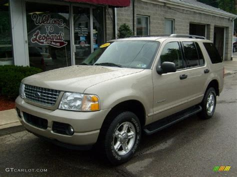 2004 Pueblo Gold Metallic Ford Explorer Xlt 4x4 #31851254