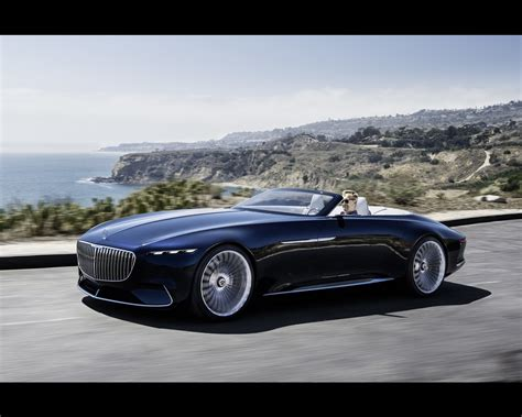 Mercedes-maybach Electric Vision 6 Cabriolet Concept 2017