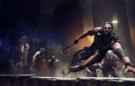 Collection of the best dying light 2 wallpapers. Wallpaper night, home, running, zombies, corpses, zombi ...