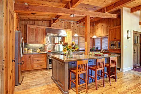cedar kitchen island photo page hgtv 2033