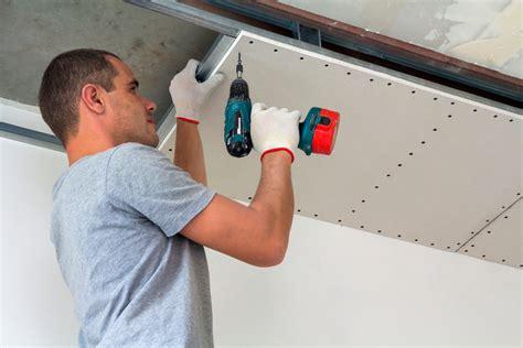 Gipskartonplatten An Wand Anbringen by Gipskartonplatten An Der Decke Anbringen 187 So Geht S