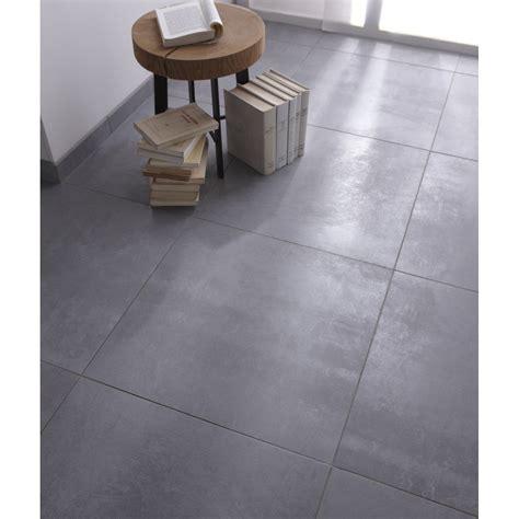 peinture sur faience cuisine carrelage sol et mur gris effet béton factory l 60 x l 60