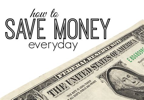 How To Save Money Everyday  Frugal Fanatic