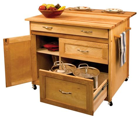 mobile kitchen island table catskill drawer island drop leaf and storage 7566