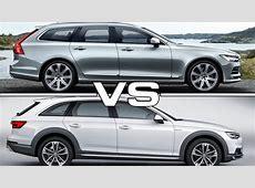 Volvo V90 vs Audi A4 Allroad Quattro YouTube