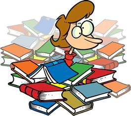 Pile of Books Clip Art