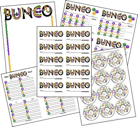 free bunco 51 best bunco time images on