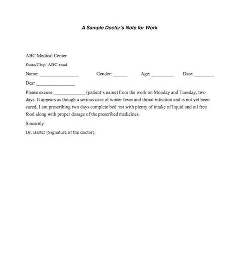 doctors note for standing desk 21 free doctor note excuse templates template lab