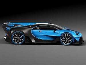 Bugatti Chiron Race Car 2017 3d model - CGStudio