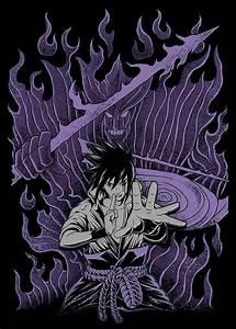 "Sasuke ""Senjutsu Susanoo"" (仙術須佐能乎, Literally meaning: Sage ..."