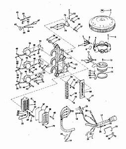 Johnson Ignition System Parts For 1972 65hp 65es72s Outboard Motor