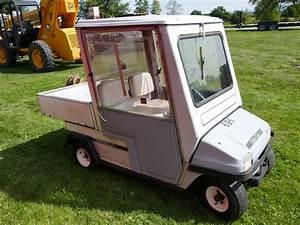Club Car Electric Golf Cart W   Enclosed Cab