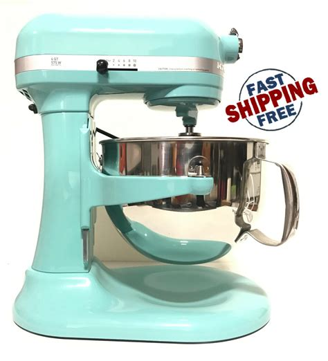 Kitchenaid Mixer Aqua Sky by Kitchenaid Rkp26m1x 10 Speed 6qt Pro 600 Large Capacity