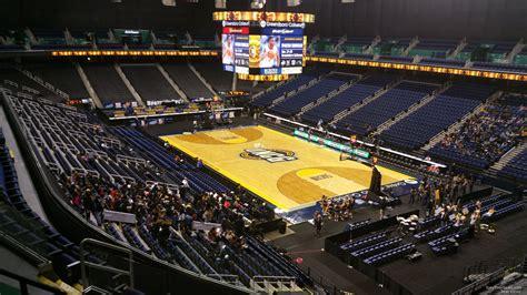 greensboro coliseum section  unc greensboro basketball rateyourseatscom