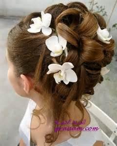coiffure fillette mariage تسريحات بنات بتاخذ العقل