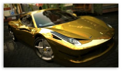 golden ferrari wallpaper download ferrari 458 italia gold wallpapers yalla wallpapers