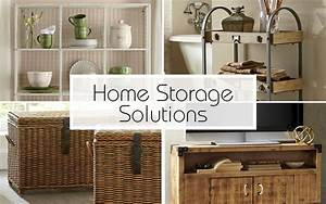 Home Storage Solutions for Every Room in the House