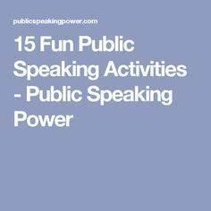 simple public speaking topics
