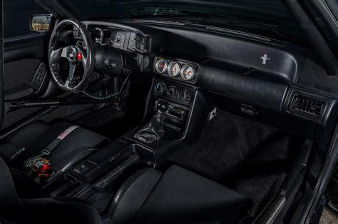 ford mustang coupe interior dash photo