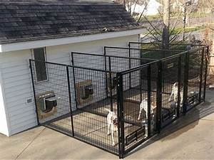 Multiple kennel direction for The dog house kennel