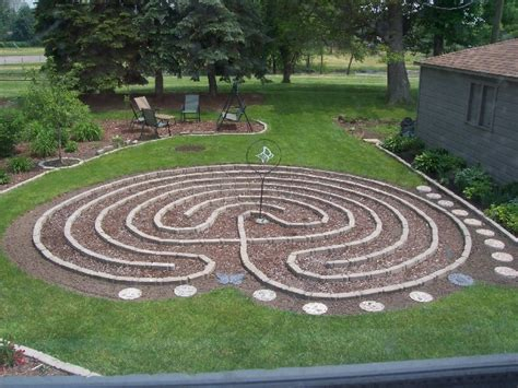 Backyard Labyrinth by 17 Best Images About Labyrinths On Blue And