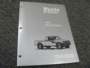1998 Mazda B2500 B3000 B4000 Truck Electrical Wiring