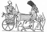 Horse Chariot War Clipart Dran Coloring Clipground sketch template