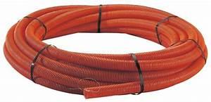Gaine Electrique Brico Depot : gaine tpc annel e diam 40 mm long 25 m rouge 40 mm ~ Dailycaller-alerts.com Idées de Décoration