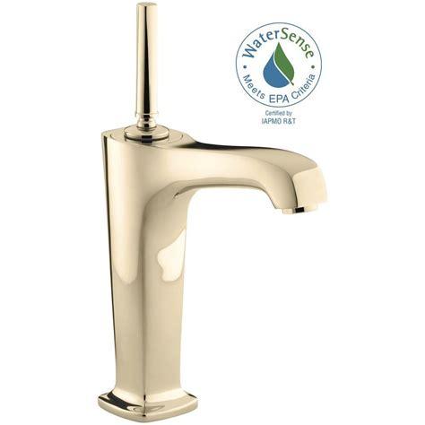 kohler bathroom sink faucets single kohler margaux single single handle low arc bathroom