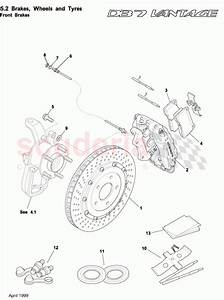 Aston Martin Db7 Vantage Front Brakes Parts