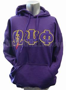 omega psi phi greek letter pullover hoodie sweatshirt with With fraternity letters sweatshirts