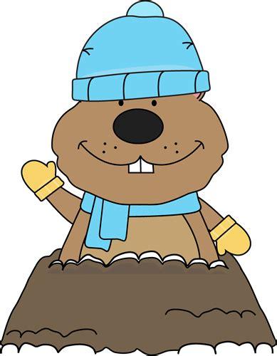 Groundhog Day Clipart Winter Groundhog Clip Winter Groundhog Image