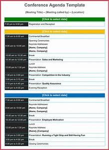 Agenda Samples Conference Agenda Template 8 Best Samples Formats In Pdf