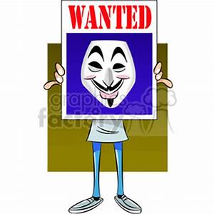 Royalty-Free vector clipart image of anonymous person ...