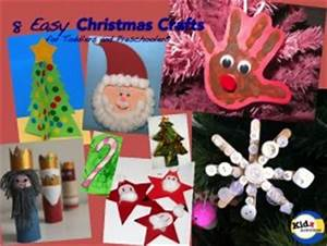 8 Easy Christmas Crafts for Toddlers and Preschoolers