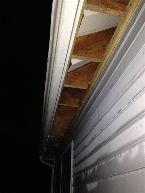 how do bathroom exhaust fans work should i temporarily cover my exposed soffit during a rain