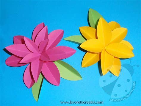 fiori con carta come realizzare fiori di carta