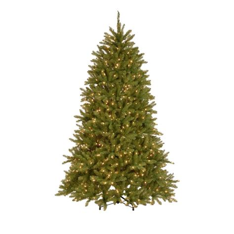 7 5 ft christmas tree with 1000 lights national tree company 7 5 ft pre lit dunhill fir hinged