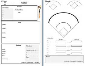 Softball Pitching Chart Template for Pinterest