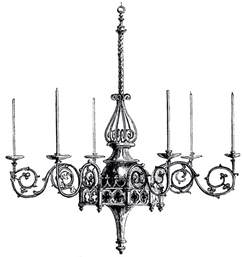 vintage chandelier image the graphics