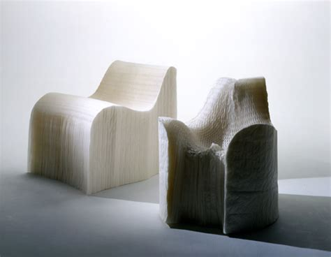 Creative Chairs From Odd Materials : Modern Furniture With Unconventional Dna